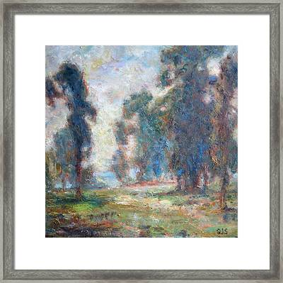 Study Of An Impressionist Master Framed Print by Quin Sweetman