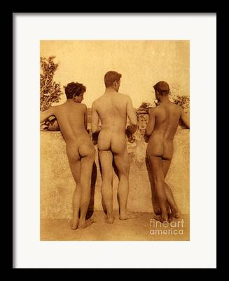 Homo-erotic Photographs Framed Prints