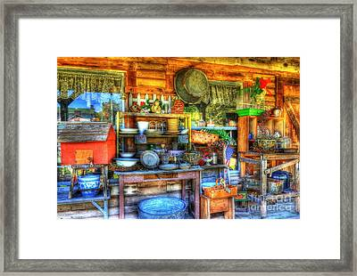 Stuff For Sale Framed Print