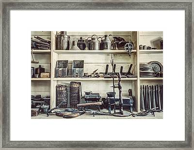 Stuff For Sale - Old General Store Framed Print by Gary Heller