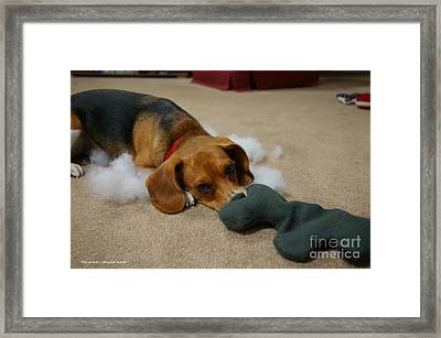 Stuffing What Stuffing Framed Print