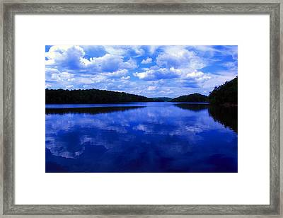 Framed Print featuring the photograph Stumpy Pond 04a by Andy Lawless