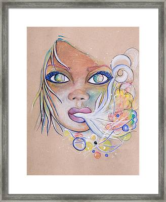 Stunned Framed Print by Chibuzor Ejims