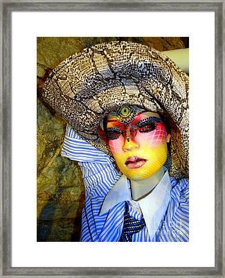 Stunning In Snakeskin Framed Print by Ed Weidman