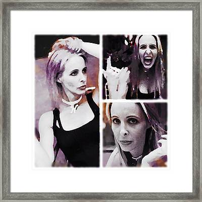 Stupid Actress  Framed Print by Lisa Piper