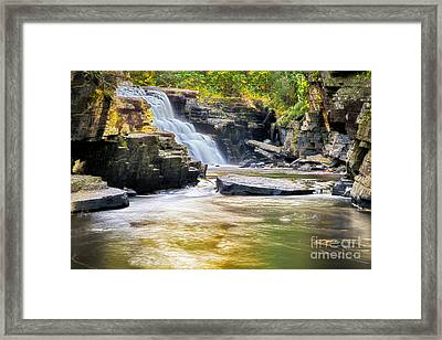 Sturgeon Falls Framed Print by Twenty Two North Photography