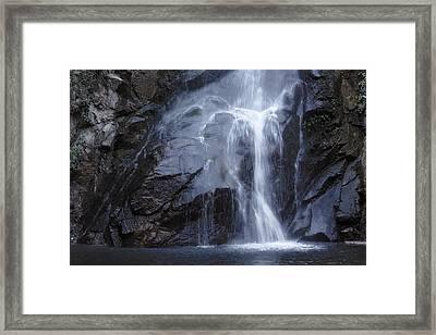 Sturtevant Falls Framed Print by Viktor Savchenko