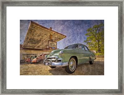 Stylish Chevy Framed Print