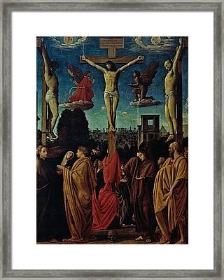 Suardi Bartolomeo Known As Bramantino Framed Print