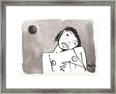 Sub Lunam No. 1 Framed Print