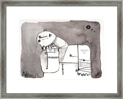 Sub Lunam No. 4 Framed Print by Mark M  Mellon