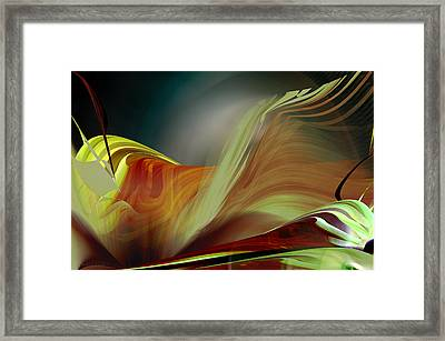 Subduction Zone Framed Print