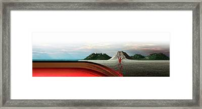 Subduction Zone Volcanism Framed Print