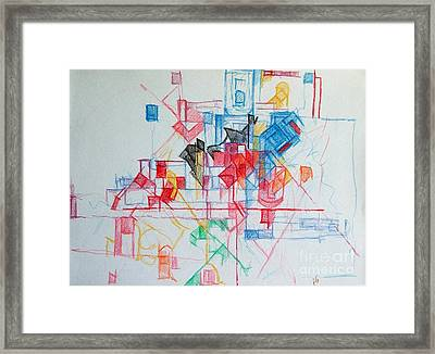 Subjecting Reason To Conscience And Conscience To Reason 2 Framed Print