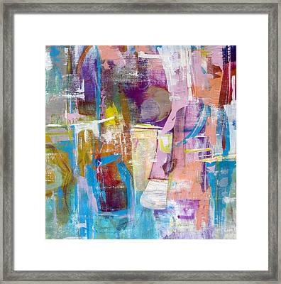 Subjective Framed Print by Katie Black