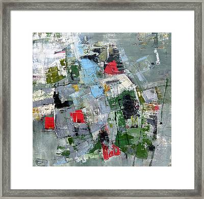 Framed Print featuring the painting Sublet by Katie Black