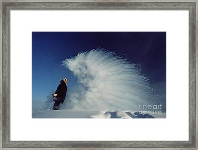 Sublimation Framed Print by B and C Alexander