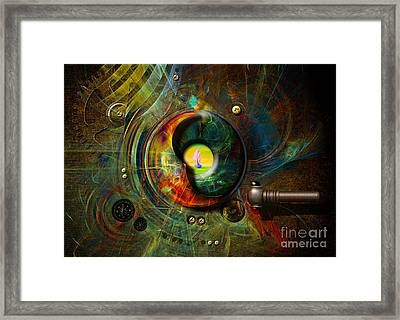 Submarine Periscope Framed Print