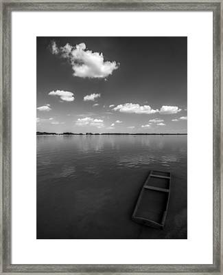 Submerged Framed Print by Davorin Mance