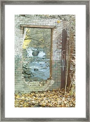 Submerged Renewed Framed Print