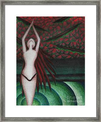 Submission Framed Print by Coriander  Shea