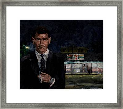 Submitted For Your Convenience Framed Print