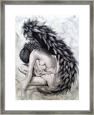 Subservience Framed Print by Shelby Edelman