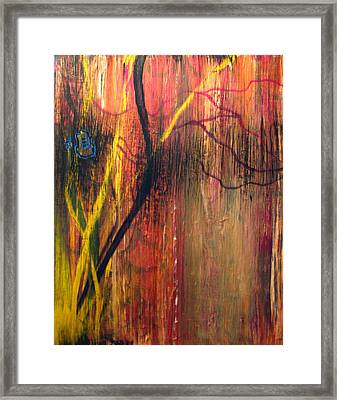 Subspace Mind - Shifting Planes Framed Print
