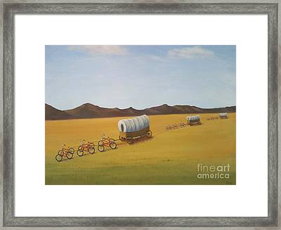 Substitutes Framed Print by Phyllis Andrews