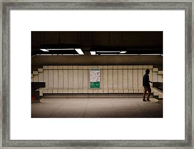 Subterraneans 2013 Framed Print by Eric Soucy