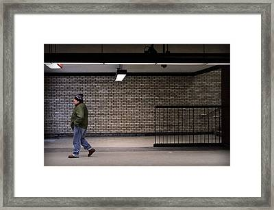 Subterraneans X Framed Print by Eric Soucy