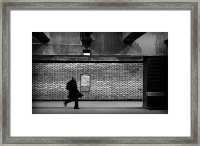 Subterraneans X1 Framed Print by Eric Soucy