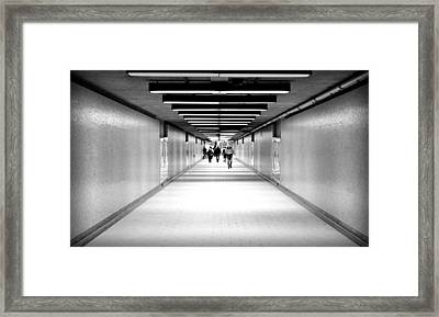 Subterraneans X4 Framed Print by Eric Soucy