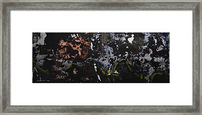 Subtext- Queen - 2014 Framed Print by Kenneth Rst Vick