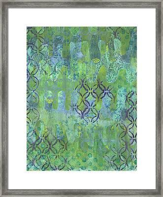 Subtle 1 Framed Print by Lisa Noneman
