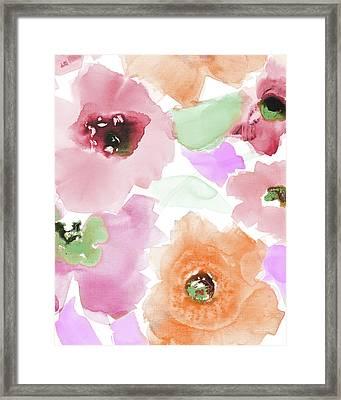 Subtle Belle Lumiere II Framed Print by Lanie Loreth