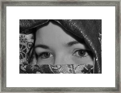 Subtle Gaze Framed Print by Michelle McPhillips