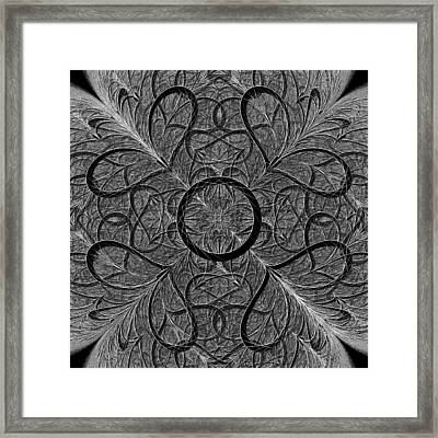 Subtle Message Framed Print by Anastasiya Malakhova