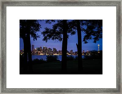 Suburban Bedroom Framed Print by Brian Xavier
