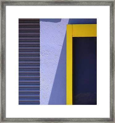 Suburban Geometry 1 Framed Print