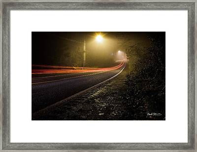 Suburbian Night Framed Print by Charlie Duncan