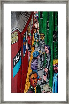 Subway 1 Framed Print by Rob Hans