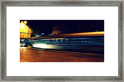 Subway Framed Print by Amr Miqdadi