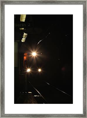 Subway And Surface Trolley Framed Print