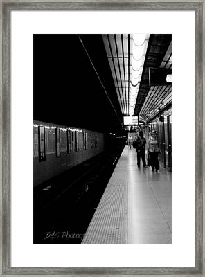 Subway Framed Print by BandC  Photography