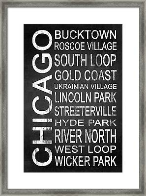 Subway Chicago 2 Framed Print by Melissa Smith