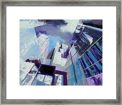 subway EXIT Framed Print by Frank De Blok