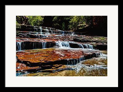 Zion National Park Framed Prints