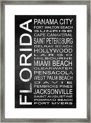 Subway Florida State 1 Framed Print