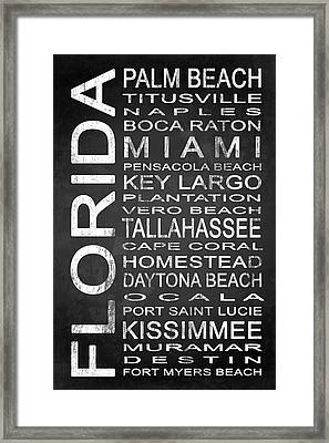 Subway Florida State 2 Framed Print by Melissa Smith